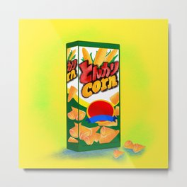 Dongari corn chips Metal Print
