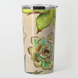 Cactus Plants Travel Mug