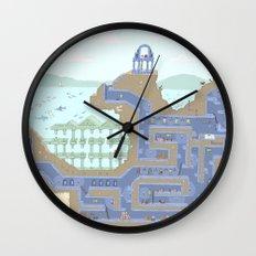 Undertunnels Maze Wall Clock
