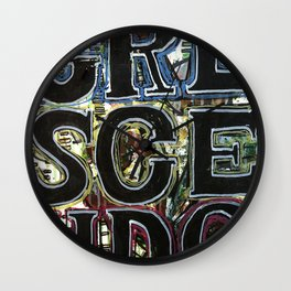 crescendo Wall Clock