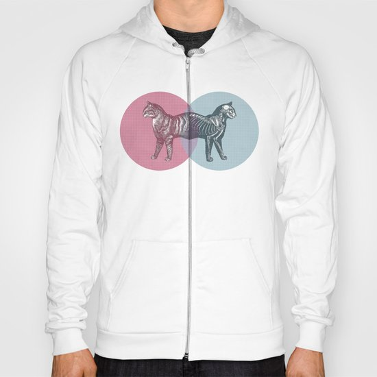 In which the cat is dead and alive Hoody