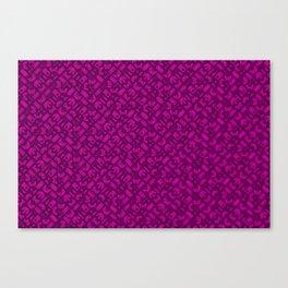 Control Your Game - Tradewinds Fuschia Canvas Print