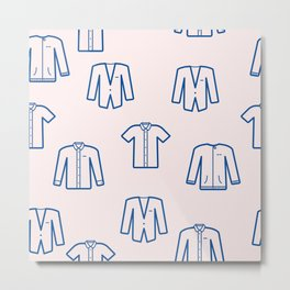 Pastel Shirts Metal Print