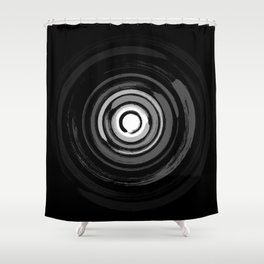 Enso Circles - Zen Circles #2 Shower Curtain