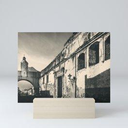 Antique buildings in Antigua, Guatemala Mini Art Print