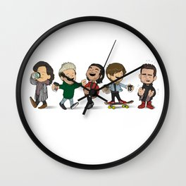 Schulz 1D Coffee Run Wall Clock