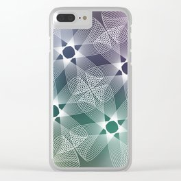 Ah Um Design #016a Clear iPhone Case