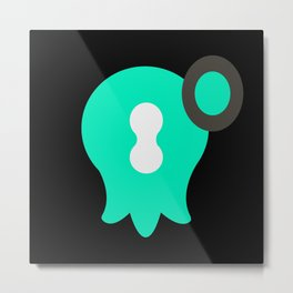 Marina - Splatoon 2 Metal Print