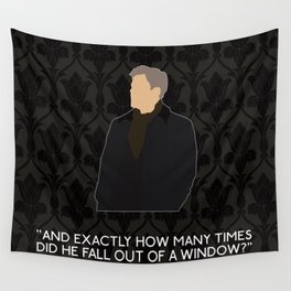 A Scandal in Belgravia - Greg Lestrade Wall Tapestry