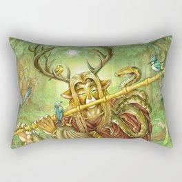 Cernunnos Rectangular Pillow