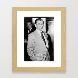 Meyer Lansky Photo - 1958 Framed Art Print