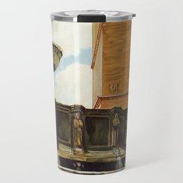 Travel Perugia and Fontana Maggiore Travel Mug
