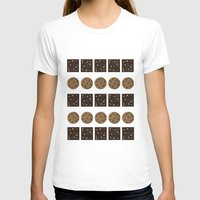 cookie monster T-shirts featuring Cookie Monster (cream) by Sidrah  Mahmood