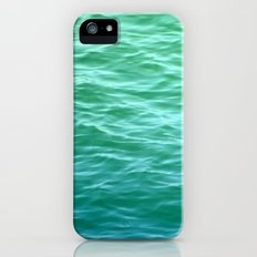 Teal Sea iPhone (5, 5s) Slim Case
