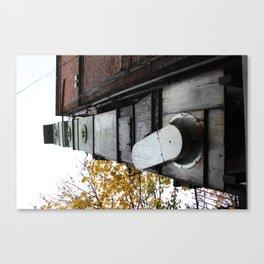 Temple Bar Ducting Canvas Print