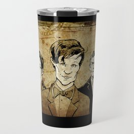Doctor Who - Nine, Ten, Eleven, Twelve, and Thirteen Travel Mug