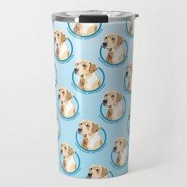 Labrador Retriever Print Travel Mug