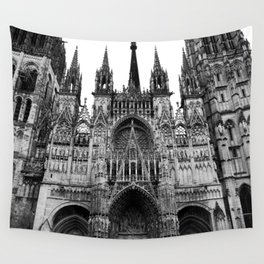 Rouen Cathedral #2 Wall Tapestry