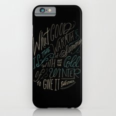 WINTER - Steinbeck Quote Slim Case iPhone 6s