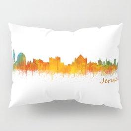 Jerusalem City Skyline Hq v2 Pillow Sham