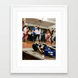 Salsa 2 Framed Art Print