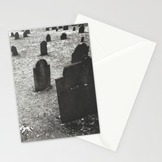 tombstones Stationery Cards
