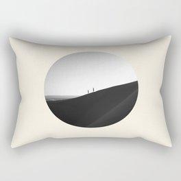 Zen Minimalist Desert Dune Rectangular Pillow