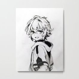 Mikaela Hyakuya Metal Print