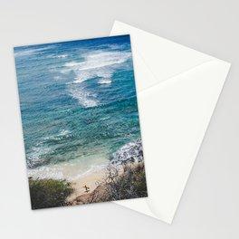 Surfer meets Sea - Diamond Head / Oahu / Hawaii Stationery Cards