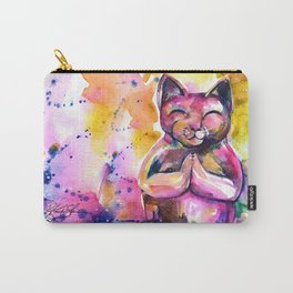 Buddha Cat No. 11 Carry-All Pouch