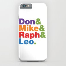 Don & Mike & Raph & Leo. iPhone 6s Slim Case