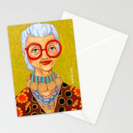 IRIS Apfel New York Fashion Icon Stationery Cards
