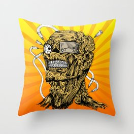 Toxic Throw Pillow