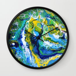 Siren's Lure Abstract Wall Clock