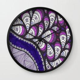 Purple-licious Wall Clock