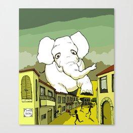 The White Elephant Canvas Print