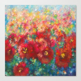 Floral Abstract Canvas Print