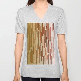 design gold lines Exotico Unisex V-Neck