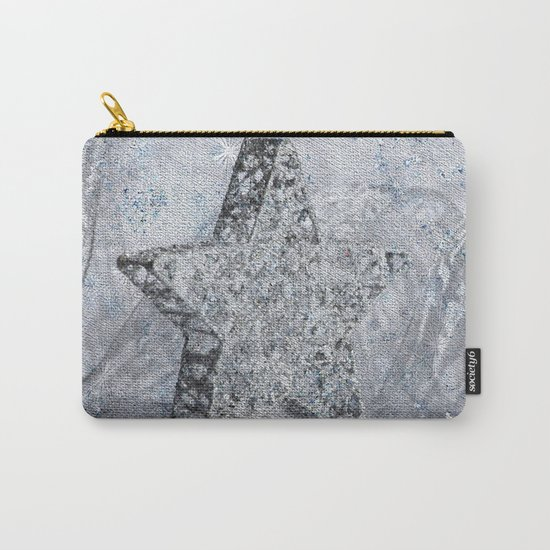 SilverStar ornament  Carry-All Pouch