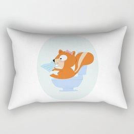 little chipmunk Rectangular Pillow