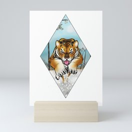 Siberian Tiger Mini Art Print