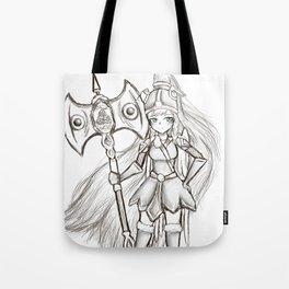 Hallow Warrior Tote Bag
