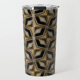 Earthman   Geometric Diamonds Travel Mug