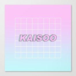 KAI SOO #1 Canvas Print