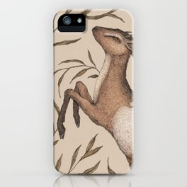 The Goat and Willow iPhone Case