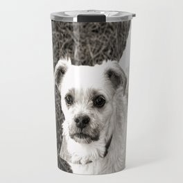 Fudge black and white Travel Mug