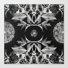 BLACK AURA Canvas Print
