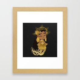The Golden One Framed Art Print