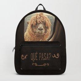 QUÈ PASA? NEVER STOP EXPLORING XXI Backpack