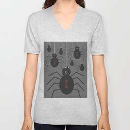 Spiders Unisex V-Neck